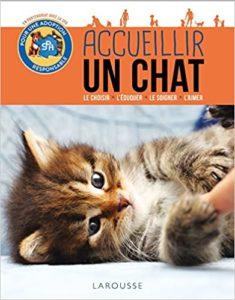 livre Accueillir un chat