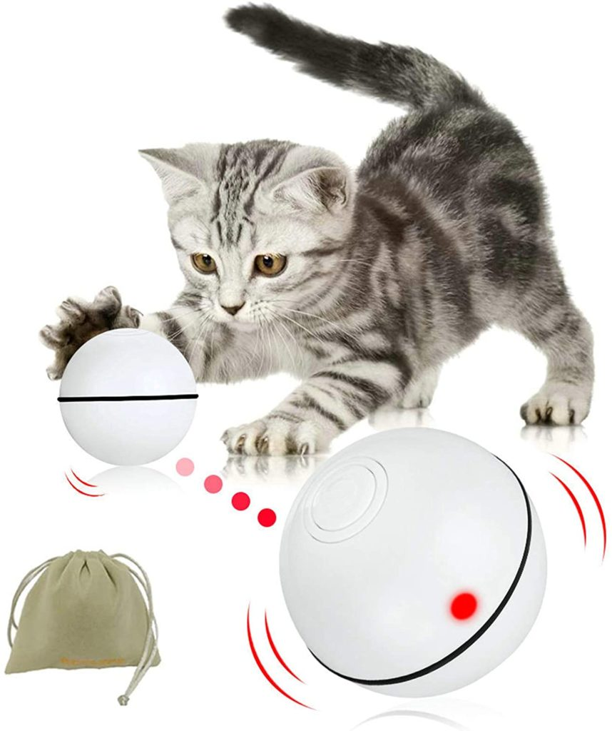 balle chat interactive cadeau chat
