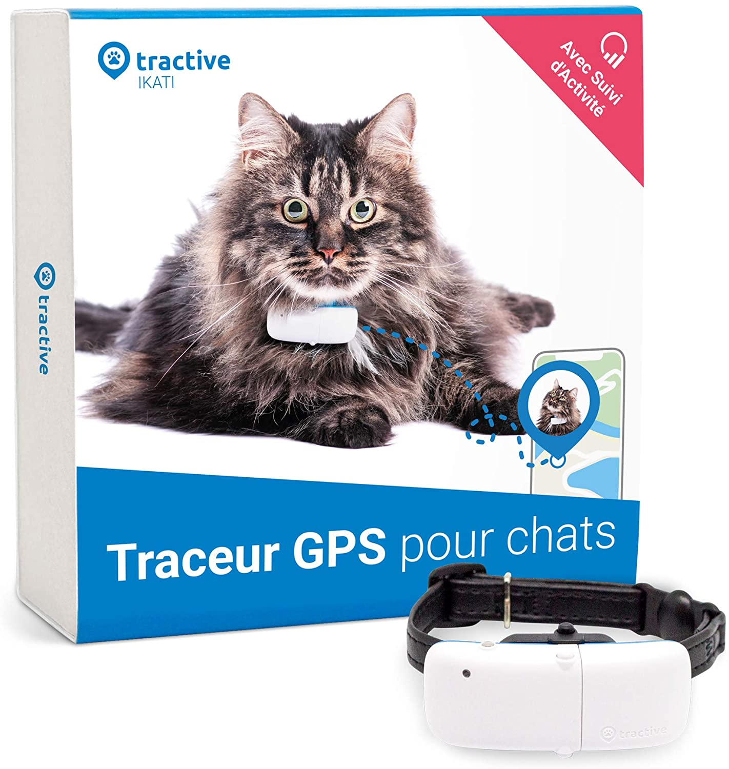 collier gps chat tractive
